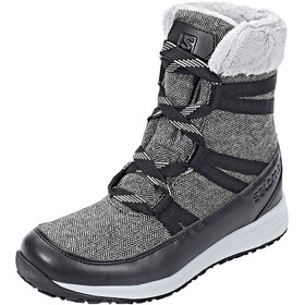 Salomon Heika CS WP Støvler Damer, black/quarry/alloy